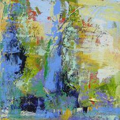 "Saatchi Art Artist Sal Panasci; Painting, ""Two Tall Cypresses, Camucia"" #art"