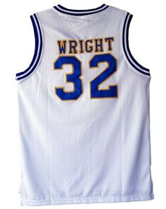 f3a8f33ec Monica Wright Jersey 32 Basketball Movie Crenshaw Love and Basketball White  Sewn #Unbranded #HighSchool