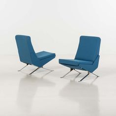 Pierre Guariche; 'Troika' Chairs for Airborne, 1958.
