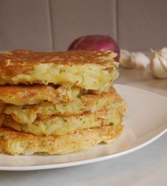 Galettes de pommes de terre Lasagne Sans Gluten, Dairy Free, Gluten Free, Cooking Recipes, Healthy Recipes, Veggie Dishes, Apple Pie, Sandwiches, Veggies