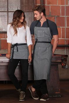 Portland Adjustable Chefs Apron [AB038]