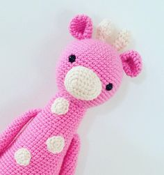 Giraffe by littlepinkcanary. Crochet patterns by Little Bear Crochets: www.littlebearcrochets.com ❤️ #littlebearcrochets #amigurumi