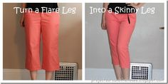 Turn a Flare Leg Into a Skinny Leg