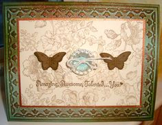 WoW Vintage Butterflies by ruby-heartedmom - Cards and Paper Crafts at Splitcoaststampers