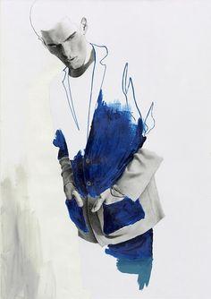 53 Best Ideas for fashion illustration techniques negative space Illustration Mode, Fashion Illustration Sketches, Fashion Sketchbook, Fashion Sketches, Portrait Art, Portraits, Fashion Design Portfolio, Figurative Art, Art Inspo