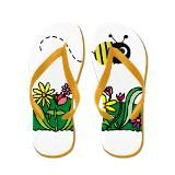 Flip Flop Items | Bumble Bee Flip Flops | Bumble Bee Flip Flops Sandals - CafePress