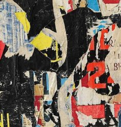 Mimmo Rotella (1918-2006) Untitled, 1961