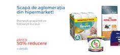 Doar Promoții : Până la 50% Reducere la Supermarket eMAG : Primeșt...
