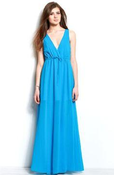 Cutout Maxi Dress - Maxi - Dresses - Womens - Armani Exchange   A ...