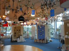 our #lighting #showroom Lighting Showroom, Chandelier, Ceiling Lights, Display, Unique, Design, Home Decor, Homemade Home Decor, Candelabra