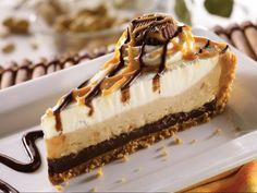 Friday's® Chocolate Peanut Butter Pie.