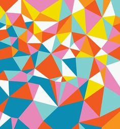Neon Facets http://decdesignecasa.blogspot.it