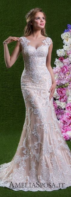 Amelia Sposa Wedding Dress 2018 #weddingdress