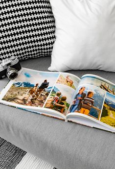 Make a photo book yourself – make a photo book from the last family vacation easy with a photo box. Make a photo book, make a photo book Source by fotokasten