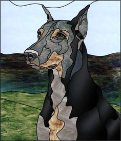 stained glass animals | Glass Eye 2000 Stained Glass Software - Design of the Month