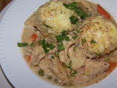 EZ Gluten Free: Chicken and Dumplings - Gluten Free Crock Pot Recipe