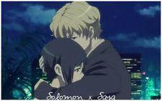 saya and solomon This ship is my life