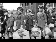 Evacuation of children during the World War II sad, not for younger kiddos