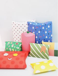 Pillow Box Mal - Template