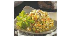 Fitnesssalat, ein Rezept der Kategorie Vorspeisen/Salate. Mehr Thermomix ® Rezepte auf www.rezeptwelt.de Nutritional Value Of Rice, Benefits Of Rice, Good Sources Of Protein, Ate Too Much, Fat Foods, Rice Bowls, Saturated Fat, Bruschetta, Fried Rice