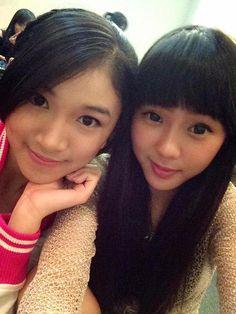 Shani Indira Natio & Chikita Mamesah JKT48