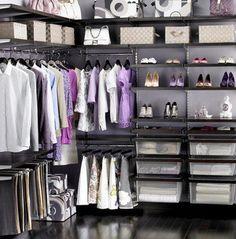 43 Organized Closet Ideas - Dream Closets_35