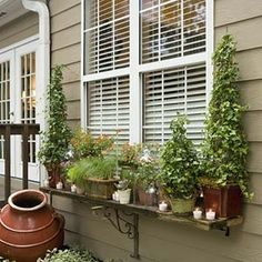 Give Your Yard a Party Makeover | After: Window Dressing | SouthernLiving.com