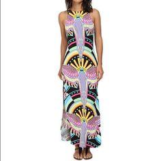 Mara Hoffman maxi tank dress sz XS Such a fun and comfortable dress!! Only worn once! Mara Hoffman Dresses Maxi