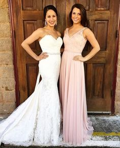 Blushing beauty in our Mori Lee bridesmaid style 122 #morilee #madelinegardner…