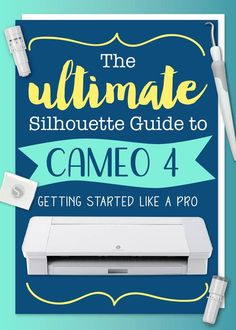 Cameo 4 User Guide by Silhouette School - Swing Design Silhouette School Blog, Silhouette Cameo Vinyl, Silhouette Projects, Silhouette Design, Silhouette Studio, Silhouette Cameo Freebies, Silhouette Files, Swing Design, Tropical