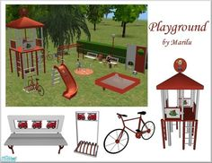 Playground by Marilu  http://www.thesimsresource.com/downloads/790426