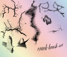 Crack Pack - Download  Photoshop brush http://www.123freebrushes.com/crack-pack/ , Published in #GrungeSplatter. More Free Grunge & Splatter Brushes, http://www.123freebrushes.com/free-brushes/grunge-splatter/ | #123freebrushes