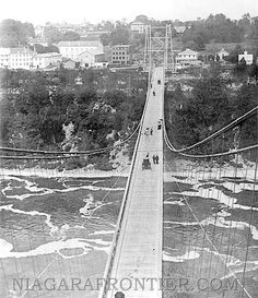 The Upper Suspension Bridge