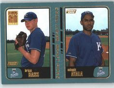 2001 Topps 747 Brian Bass RC / Odanis Ayala RC - Kansas City Royals (RC - Rookie Card) (Baseball Cards) *** This is an Amazon Affiliate link. Want additional info? Click on the image.