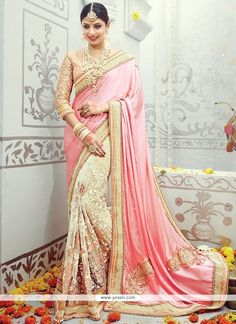 Absorbing Embroidered Work Designer Traditional Sarees Model: YOSAR8499