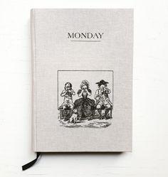 Motivational notebook :)   #monday #notebook #handmade #bookbinding #notes #pracowniazeszytow #notebooksdesign