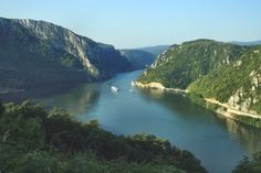 europe romania danube river gorges canyon iron gates national park