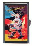Musical Drummer Robot Vintage Toy Guitar Pick or Pill Box USA Made Reviews - http://shopattonys.com/musical-drummer-robot-vintage-toy-guitar-pick-or-pill-box-usa-made-reviews/