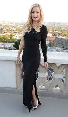 Kate Hudson in a dress from her own Ann Taylor line (it's under $200!)