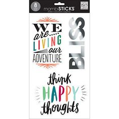 Create 365 The Happy Planner Value Pack Stickers, Basics