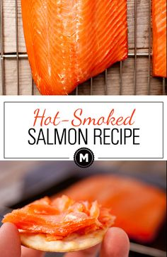 Hot Smoked Salmon Recipe: This healthy and delicious slow food recipe is a perfect use of good quality salmon. Hot smoking salmon is a great way to preserve it for later and you can use it in a variety of dishes (or eat it immediately like I do!) | macheesmo.com