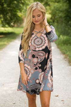 She's Got The Sweetest Secret Dress - The Pink Lily