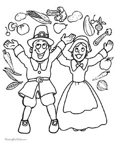 Fall Coloring Page A Cornucopia of Color Thanksgiving