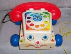 Childhood Memory Keeper: Retro Pop Culture from the 1960s, 1970s and 1980s: Fisher-Price Chatter Phone
