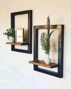 diy furniture redo ,, DIY Möbel wiederholen, Back When I Was A Kid. Modern Floating Shelves, Floating Shelf Decor, Modern Shelving, Diy Hanging Shelves, Diy Furniture Redo, Furniture Sale, Wooden Furniture, Furniture Ideas, Furniture Design