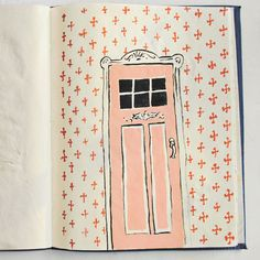 Sketchbook: Danielle Kroll   Book By Its Cover