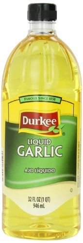 Durkee Liquid Garlic 32Ounce *** Click image to review more details.(This is an Amazon affiliate link and I receive a commission for the sales)