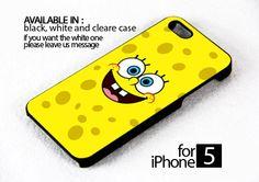 AJ 147 spongebob face - iPhone 5 Case