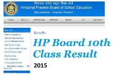 HPBOSE 10th Results : आज 11 बजे घोषित किए जाएंगे हिमाचल प्रदेश 10वीं के परिणाम। जिन विद्यार्थियों ने इस परीक्षा में परचे भरे थें उनके इन्तजार की अवधी अब समाप्त होने हेई वाली है।