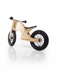 Chop Balance Bike by Prince Lionheart at Gilt Metal Work Bench, Prince Lionheart, Wood Bike, Push Bikes, Balance Bike, Ride On Toys, Kids Bike, Wood Toys, Kids Furniture